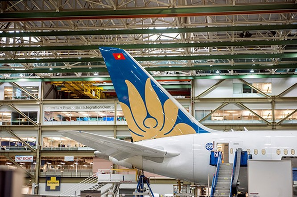 Vietnam Airlines sắp nhận Boeing 787-9 Dreamliner ảnh 1
