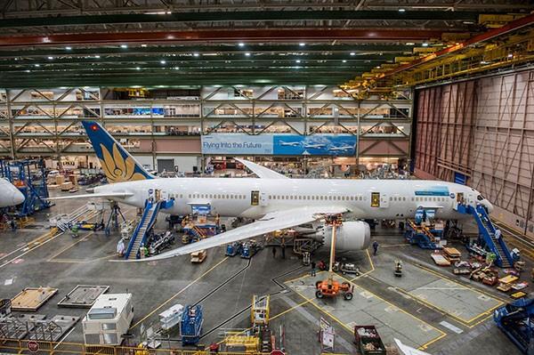 Vietnam Airlines sắp nhận Boeing 787-9 Dreamliner ảnh 2