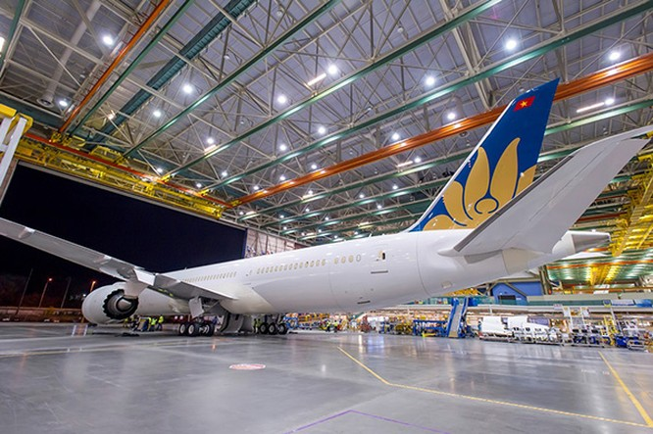 Vietnam Airlines sắp nhận Boeing 787-9 Dreamliner ảnh 3