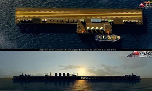Trung Quốc xây đảo nổi di động trên Biển Đông ảnh 1