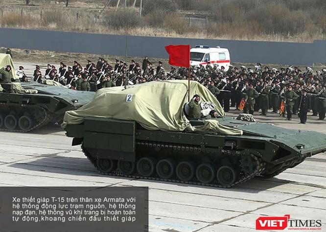 Siêu tăng Armata lần đầu xuất hiện chính thức ảnh 1