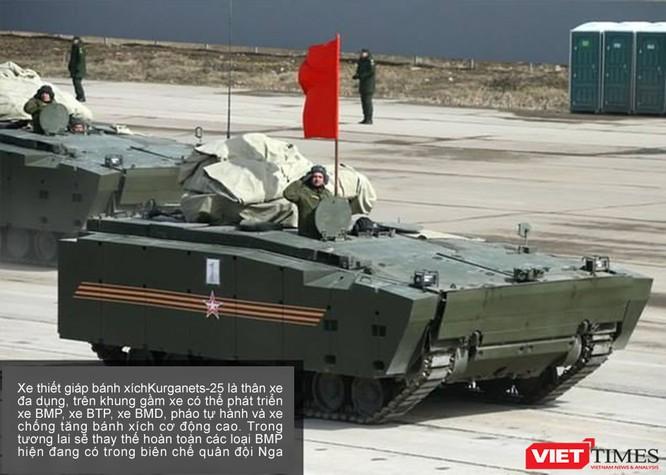 Siêu tăng Armata lần đầu xuất hiện chính thức ảnh 2