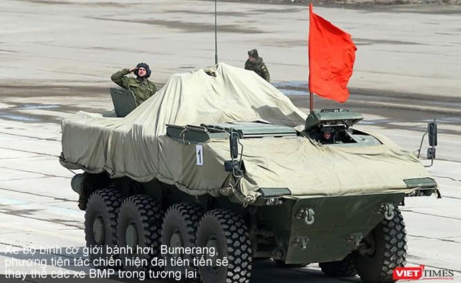 Siêu tăng Armata lần đầu xuất hiện chính thức ảnh 4