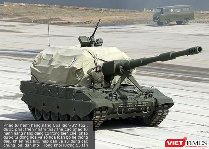 Siêu tăng Armata lần đầu xuất hiện chính thức ảnh 5