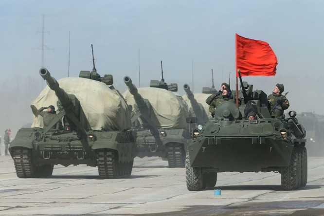 Nga khoe dàn vũ khí tối tân tham gia lễ duyệt binh Ngày Chiến thắng ảnh 1