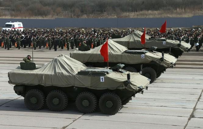 Nga khoe dàn vũ khí tối tân tham gia lễ duyệt binh Ngày Chiến thắng ảnh 3