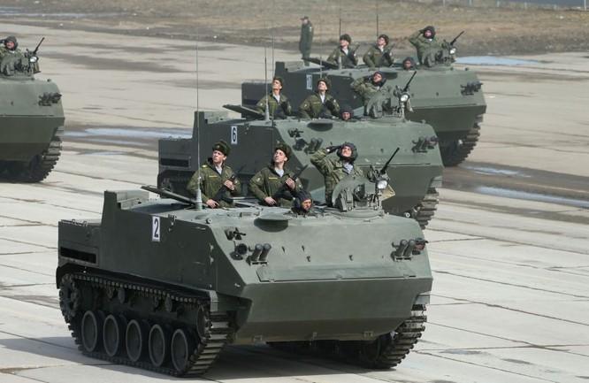 Nga khoe dàn vũ khí tối tân tham gia lễ duyệt binh Ngày Chiến thắng ảnh 5