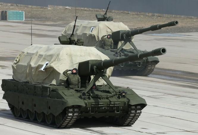 Nga khoe dàn vũ khí tối tân tham gia lễ duyệt binh Ngày Chiến thắng ảnh 7