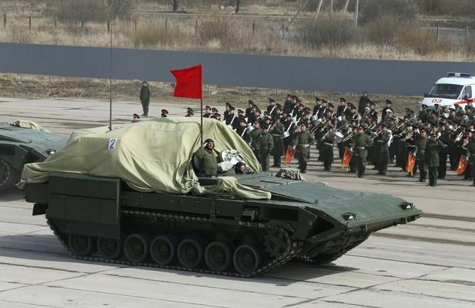 Nga khoe dàn vũ khí tối tân tham gia lễ duyệt binh Ngày Chiến thắng ảnh 8