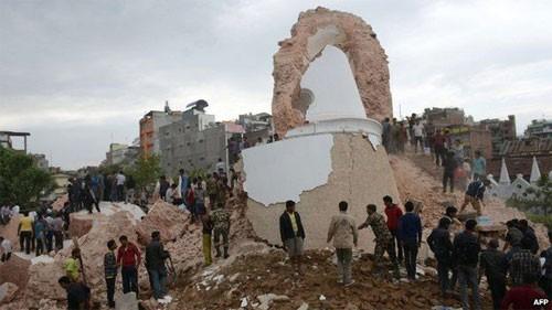 Động đất mạnh ở Nepal, hơn 600 người chết ảnh 3
