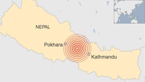 Động đất mạnh ở Nepal, hơn 600 người chết ảnh 4