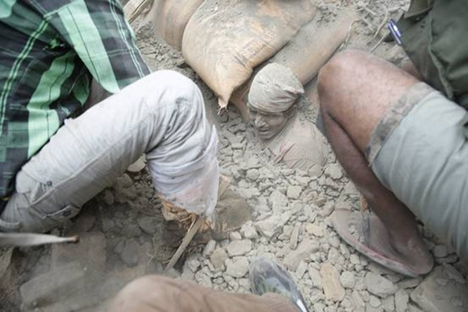 Nepal tan hoang sau động đất ảnh 5