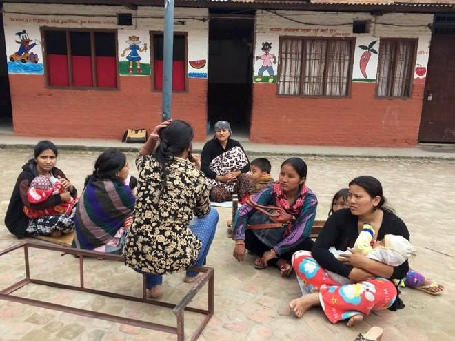 Nepal tan hoang sau động đất ảnh 8