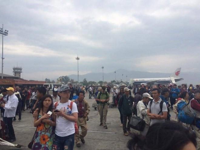 Nepal tan hoang sau động đất ảnh 9