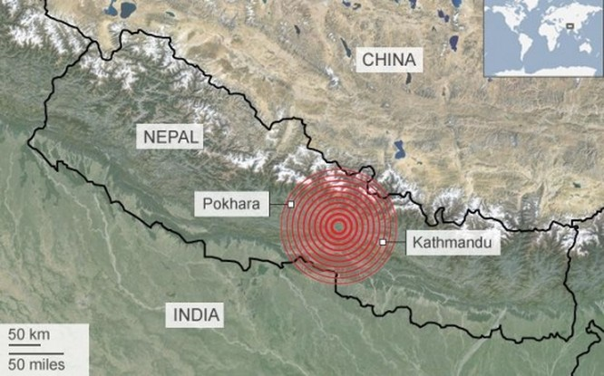 Động đất mạnh ở Nepal, hơn 1.500 người chết ảnh 9