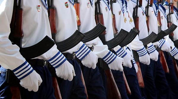 TP HCM diễu binh mừng ngày thống nhất ảnh 14