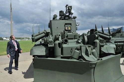 Nga phát triển xe thiết giáp công binh thế hệ mới ảnh 1