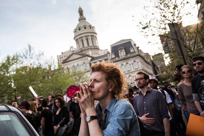 Biểu tình từ Baltimore lan khắp nước Mỹ ảnh 5