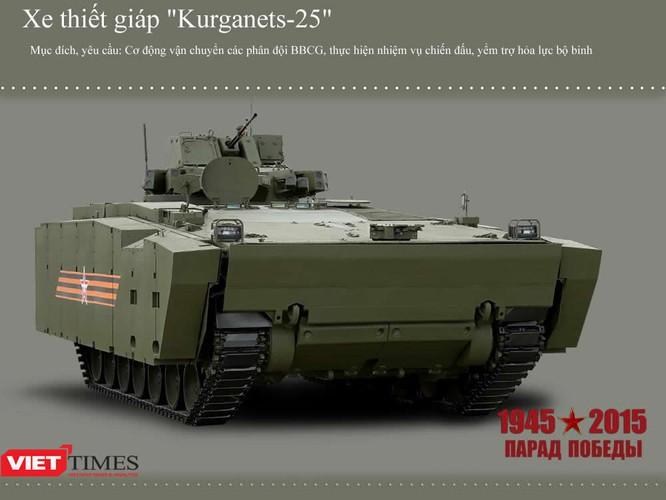 Dàn siêu tăng, thiết giáp tham gia diễu binh trên Quảng trường Đỏ ảnh 1