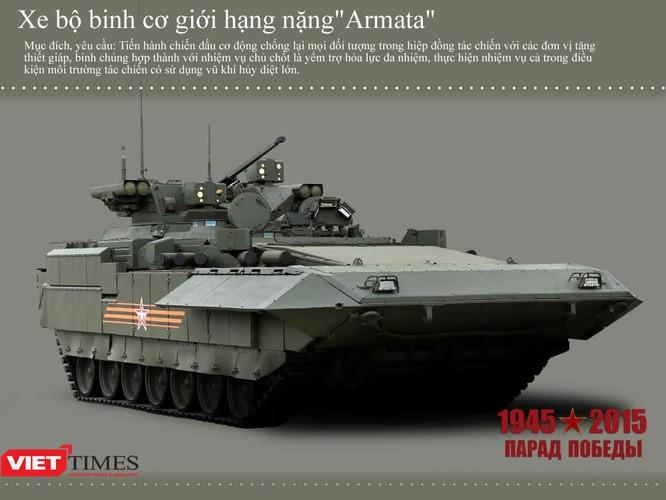 Dàn siêu tăng, thiết giáp tham gia diễu binh trên Quảng trường Đỏ ảnh 2