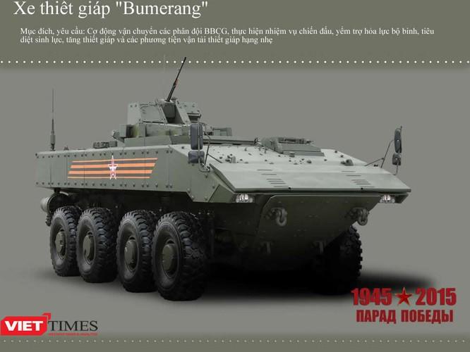 Dàn siêu tăng, thiết giáp tham gia diễu binh trên Quảng trường Đỏ ảnh 4