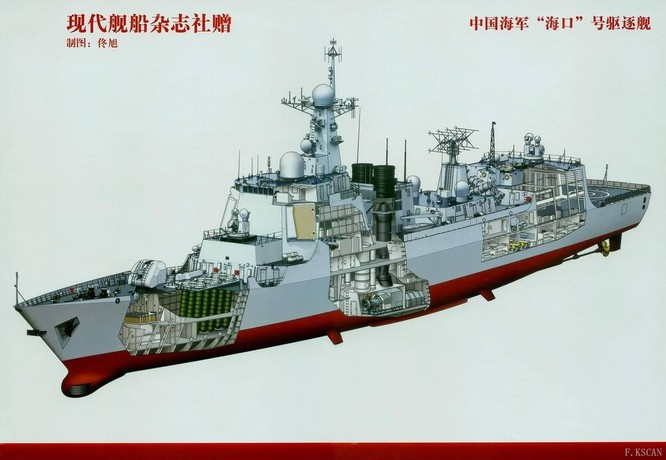 Khu trục hạm Aegic Trung Quốc khó toàn thây trước tên lửa Việt Nam ảnh 2