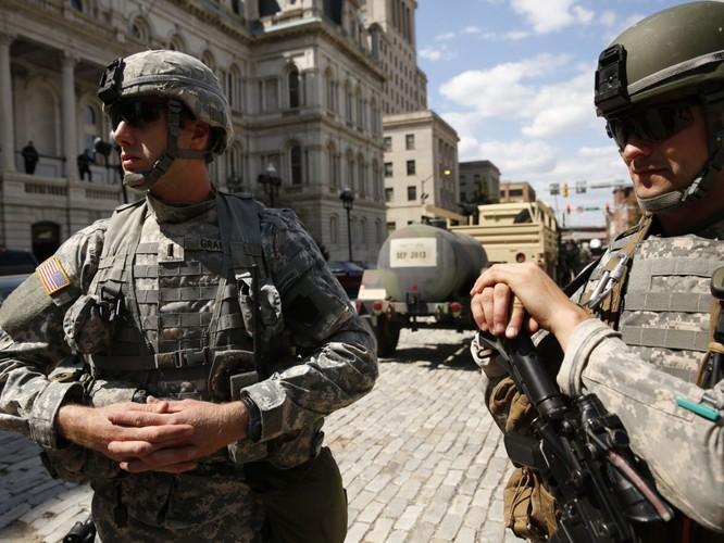 Cận cảnh bạo loạn Baltimore-Mỹ ảnh 14