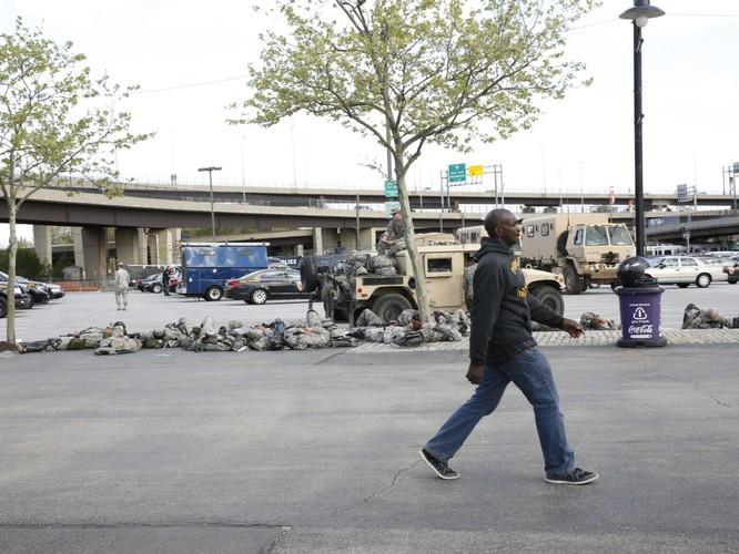 Cận cảnh bạo loạn Baltimore-Mỹ ảnh 17
