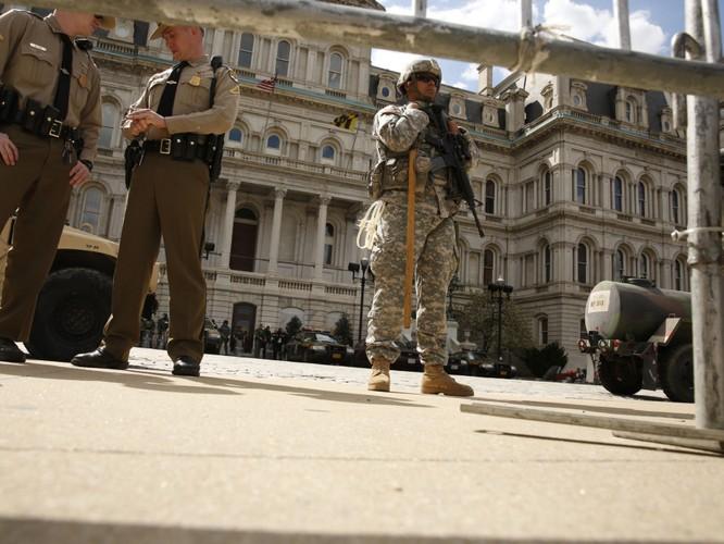 Cận cảnh bạo loạn Baltimore-Mỹ ảnh 20