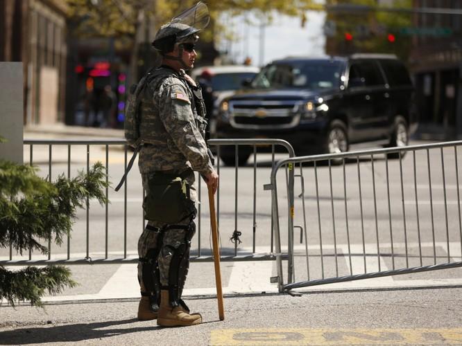 Cận cảnh bạo loạn Baltimore-Mỹ ảnh 21