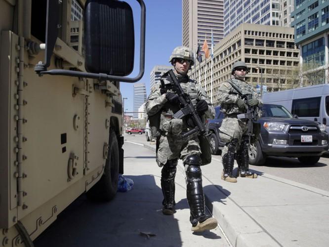 Cận cảnh bạo loạn Baltimore-Mỹ ảnh 26