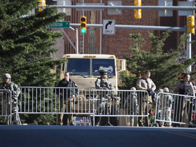Cận cảnh bạo loạn Baltimore-Mỹ ảnh 27
