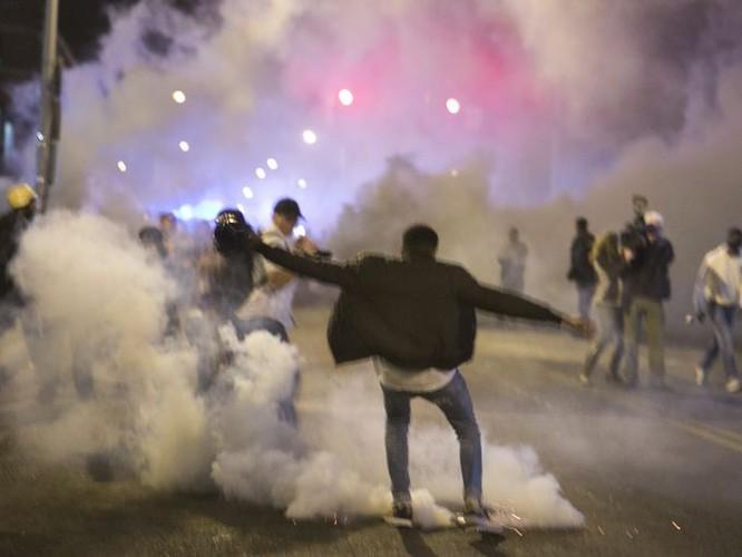 Cận cảnh bạo loạn Baltimore-Mỹ ảnh 12