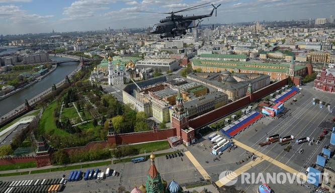 Cận cảnh không quân Nga diễn tập diễu hành trên bầu trời Moscow ảnh 11