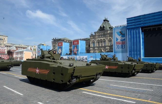 Cận cảnh lễ Diễu binh hoành tráng nhất từ trước đến nay tại Nga ảnh 10
