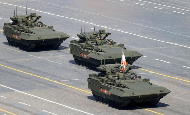Cận cảnh lễ Diễu binh hoành tráng nhất từ trước đến nay tại Nga ảnh 13