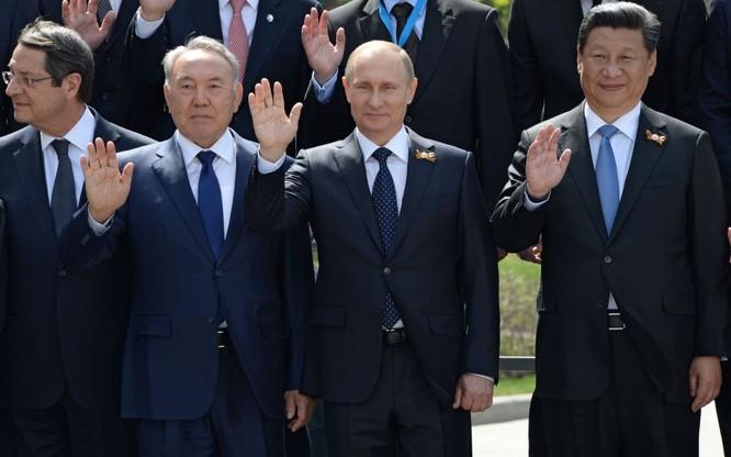 Cận cảnh các nhà lãnh đạo thế giới dự lễ kỷ niệm V-Day ảnh 10