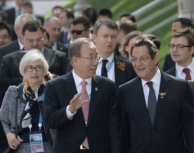 Cận cảnh các nhà lãnh đạo thế giới dự lễ kỷ niệm V-Day ảnh 12