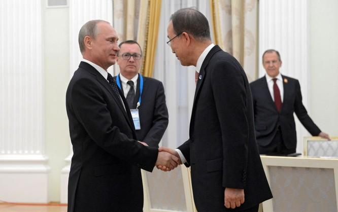 Cận cảnh các nhà lãnh đạo thế giới dự lễ kỷ niệm V-Day ảnh 3
