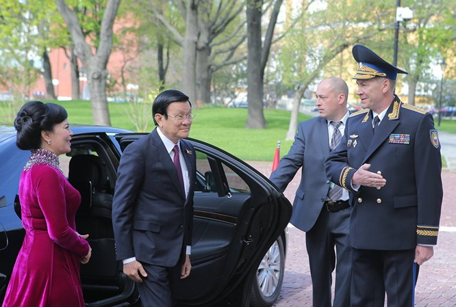 Cận cảnh các nhà lãnh đạo thế giới dự lễ kỷ niệm V-Day ảnh 1