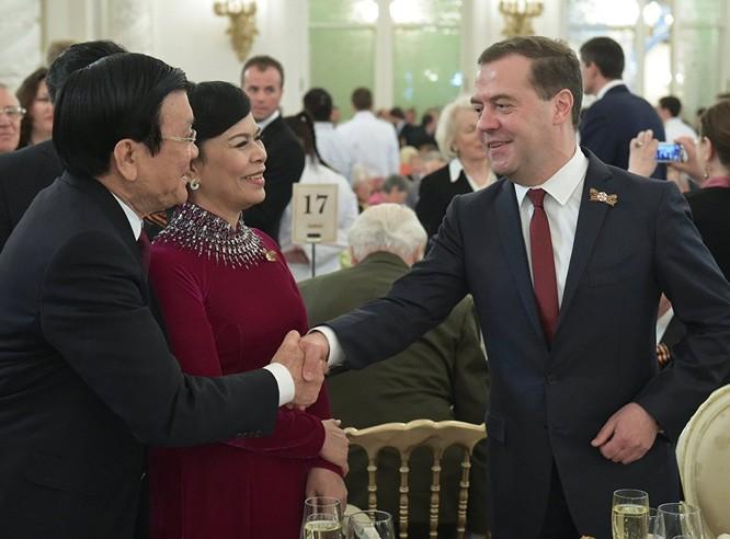 Cận cảnh các nhà lãnh đạo thế giới dự lễ kỷ niệm V-Day ảnh 2