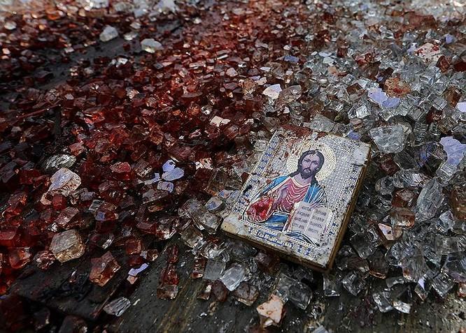 Cận cảnh xung đột Ukraine: một năm thảm họa ảnh 29