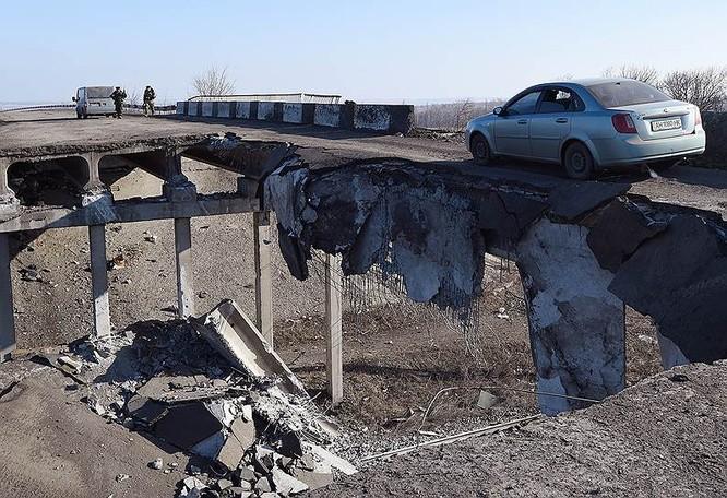 Cận cảnh xung đột Ukraine: một năm thảm họa ảnh 85