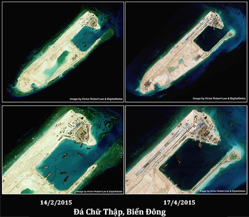 Biển Đông dậy sóng với một loạt biến động ảnh 1