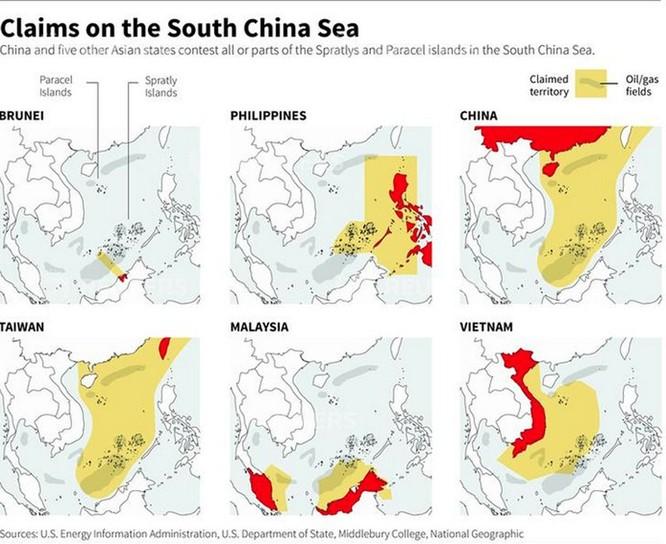 Mỹ - Trung: Cuộc đấu quyết liệt dành quyền thống trị bầu trời Biển Đông ảnh 2