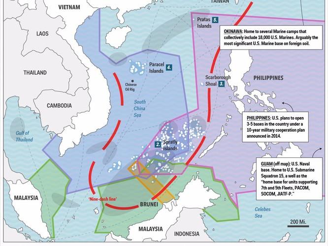 """Trung Quốc """"rắn như đá"""" khi đề cập đến vấn đề đảo nhân tạo trên Biển Đông ảnh 1"""