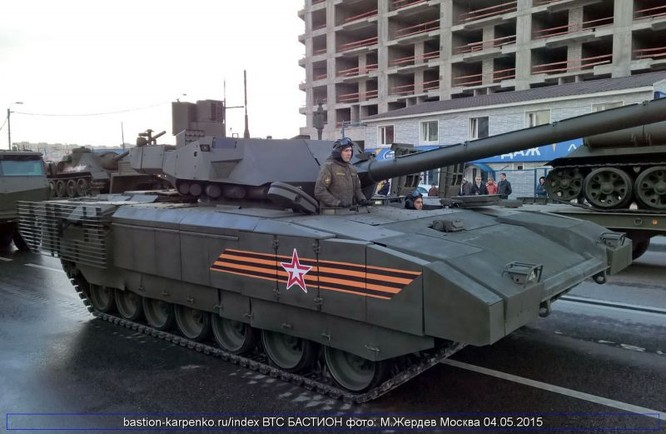 Siêu tăng T-14 Armata giá 8 triệu USD của Nga-hàng độc ảnh 5