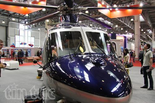 Thế giới trực thăng 'loáng mắt' trong triển lãm ở Moskva ảnh 1