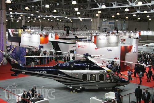 Thế giới trực thăng 'loáng mắt' trong triển lãm ở Moskva ảnh 2