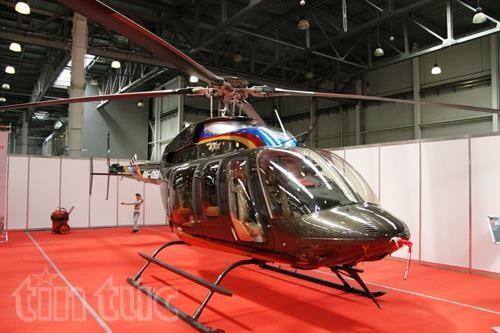 Thế giới trực thăng 'loáng mắt' trong triển lãm ở Moskva ảnh 3